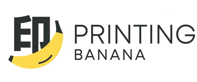 印蕉 Printing Banana Logo