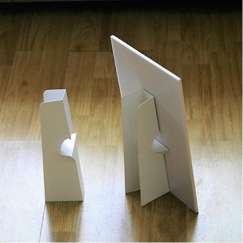 背紙架座枱牌