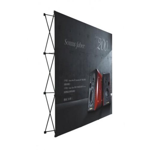 3x4 直形拉網展架