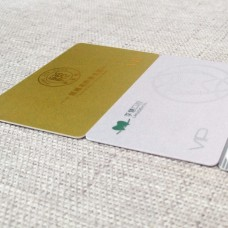 金/銀砂PVC卡