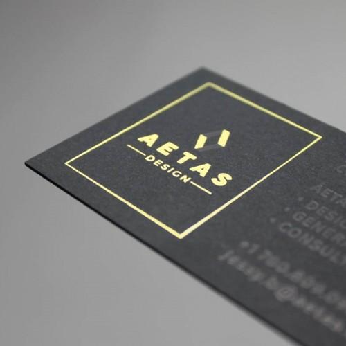 本色黑卡卡片